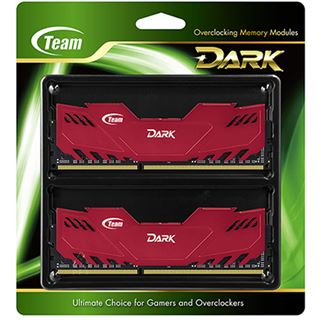 8GB TeamGroup Dark Series rot DDR3-2400 DIMM CL11 Dual Kit
