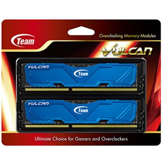 16GB TeamGroup Vulcan Series blau DDR3-2400 DIMM CL11 Dual Kit