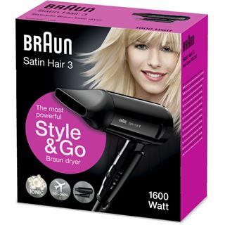 Braun Haartrockner SatinHair3 HD 350 Style/go sw