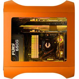 BitFenix oranges Seitenteil mit Fenster für BitFenix Prodigy M (BFC-PRM-300-OOWA-RP)