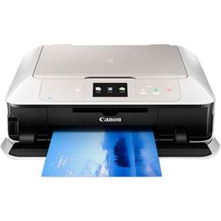 Canon PIXMA MG7550 weiß Tinte Drucken/Scannen/Kopieren Cardreader/LAN/USB 2.0/WLAN