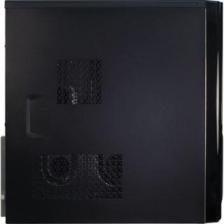 Inter-Tech JY-236 Polecat Midi Tower ohne Netzteil schwarz