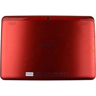 """10.1"""" (25,65cm) Hannspree HANNSpad T74R WiFi/Bluetooth V3.0 16GB rot"""