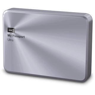 "2000GB WD My Passport Ultra Metal WDBEZW0020BSL-EESN 2.5"" (6.4cm) USB 3.0 silber"