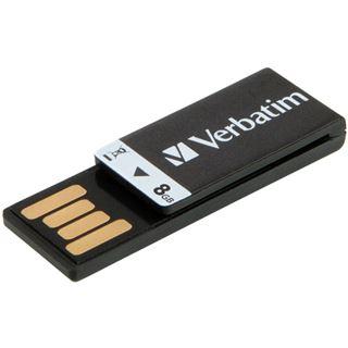 8 GB Verbatim Clip-it schwarz USB 2.0