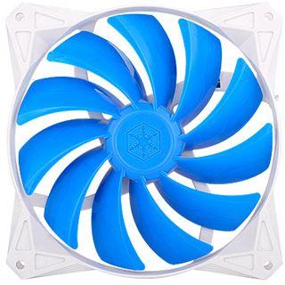 Silverstone FQ122 120x120x25mm 1500 U/min 14.5-24.9 db(A) weiß/blau