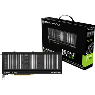 4GB Gainward GeForce GTX 980 Phantom Aktiv PCIe 3.0 x16 (Retail)