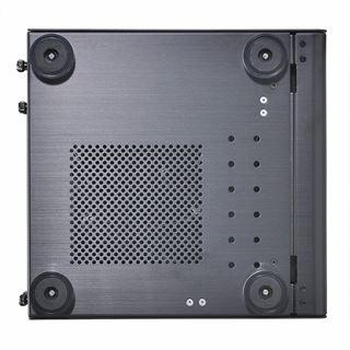 Lian Li PC-Q33WB mit Sichtfenster Mini-ITX ohne Netzteil schwarz
