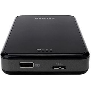 """Zalman ZM-WE450 2.5"""" (6,35cm) USB 3.0/WLAN schwarz/silber"""