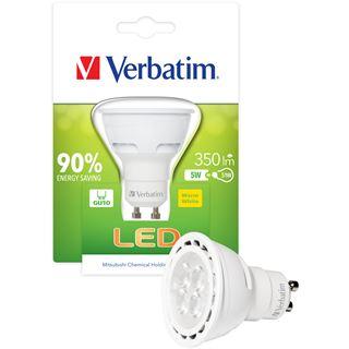 Verbatim LED PAR16 5W/51W weiß Klar GU10 A+