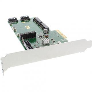 InLine 76617B 4 Port PCIe 2.0 x4 Low Profile retail