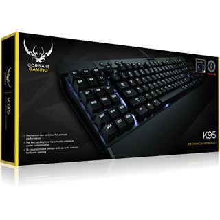 Corsair Gaming K95 MX-Red CHERRY MX Red USB Deutsch schwarz (kabelgebunden)