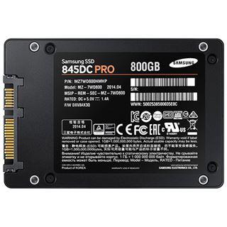 "800GB Samsung 845DC Pro Series 2.5"" (6.4cm) SATA 6Gb/s MLC Toggle (MZ-7WD800EW)"