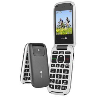 doro PhoneEasy 613 grau/weiß