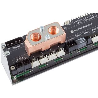 Aqua Computer schwarzer Passivkühler für Aqua Computer Systeme (53164)