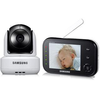 "Samsung 3,5"" (8,89cm) LCD Pan Tilt Zoom Videobabyphone SEW-3037WP"