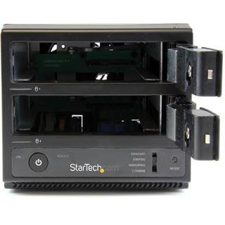 """Startech S352BU33RER 3.5"""" (8,89cm) eSATA/USB 3.0 schwarz"""