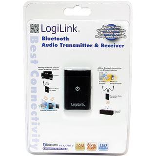 LogiLink Bluetooth Audio Transmitter & Receiver schwarz