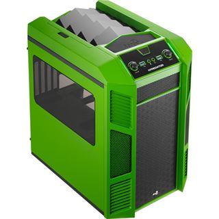 AeroCool Xpredator Cube GB mit Sichtfenster Wuerfel ohne Netzteil schwarz/gruen