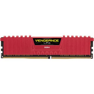 16GB Corsair Vengeance LPX rot DDR4-2666 DIMM CL16 Quad Kit