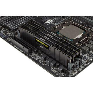 32GB Corsair Vengeance LPX schwarz DDR4-2400 DIMM CL14 Quad Kit