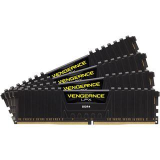 16GB Corsair Vengeance LPX schwarz DDR4-2400 DIMM CL14 Quad Kit
