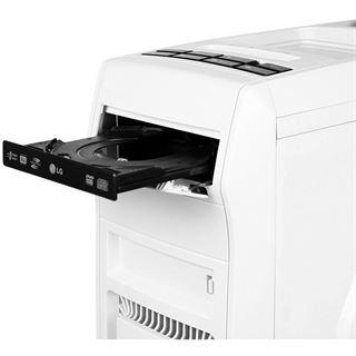 Cooltek GT-01 mit Sichtfenster Midi Tower ohne Netzteil weiss