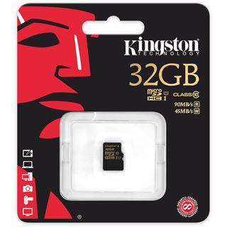 32 GB Kingston SDCA10 microSDHC UHS-I Retail