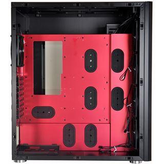 Lian Li PC-D666WRX mit Sichtfenster Big Tower ohne Netzteil schwarz/rot