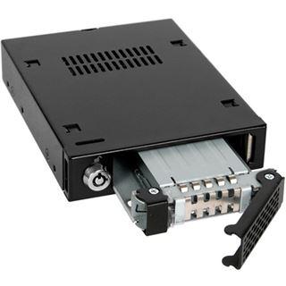 """Icy Dock schwarzer 3,5"""" Wechselrahmen für 2,5"""" Festplatten (MB991SK-B)"""