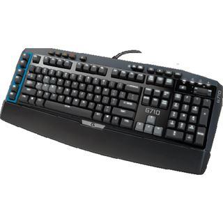 Logitech G710 MX-Blue CHERRY MX Blue USB Deutsch schwarz (kabelgebunden)