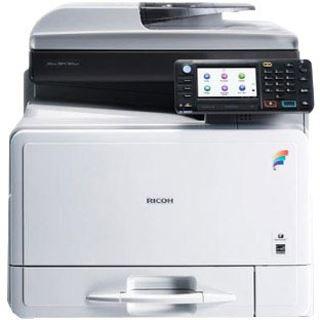 Ricoh Aficio MP C305SPF Farblaser Drucken/Scannen/Kopieren/Faxen LAN/USB 2.0