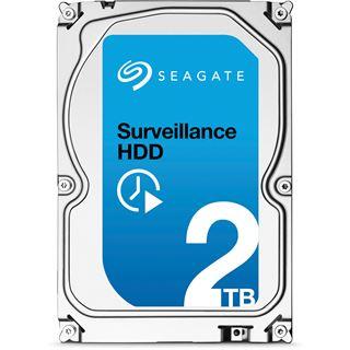 """2000GB Seagate SV35.6 ST2000VX004 64MB 3.5"""" (8.9cm) SATA 6Gb/s"""