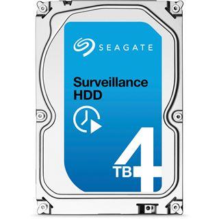 """4000GB Seagate Surveillance ST4000VX002 64MB 3.5"""" (8.9cm) SATA 6Gb/s"""