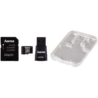 16 GB Hama Zubehör-Set microSDHC Class 10 Retail inkl. USB-Adapter und Adapter auf SD