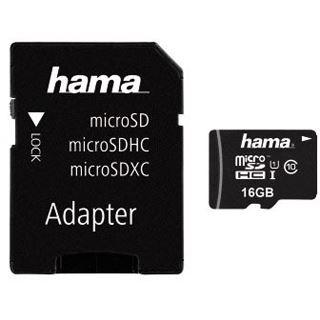 16 GB Hama Action Cam microSDHC UHS-I Retail inkl. Adapter auf SD