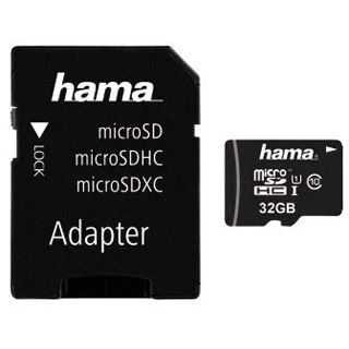 32 GB Hama Action Cam microSDHC UHS-I Retail inkl. Adapter auf SD