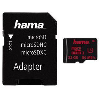 32 GB Hama Foto microSDHC UHS-I Retail inkl. Adapter auf SD