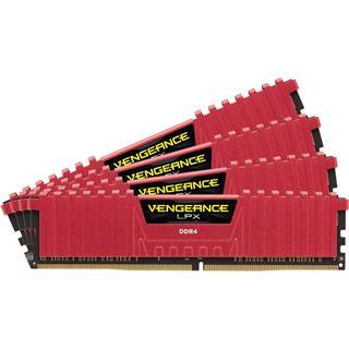 16GB Corsair Vengeance LPX rot DDR4-2133 DIMM CL13 Quad Kit
