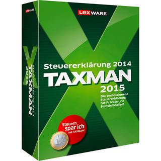 Lexware Taxman 2015 FFP 32/64 Bit Deutsch Finanzen Vollversion PC (CD)