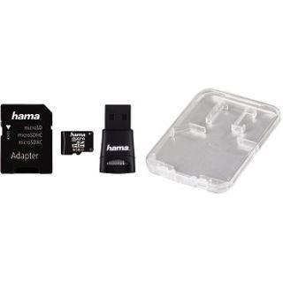 8 GB Hama 114971 microSDHC Class 10 Retail inkl. 2 Adapter
