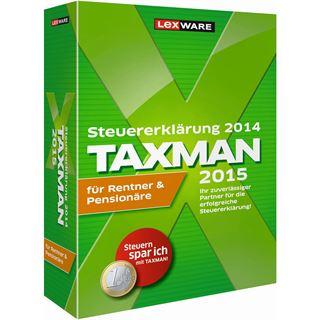 Lexware Taxman 2015 für Rentner und Pensionäre 32/64 Bit Deutsch Finanzen Vollversion PC (CD)