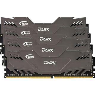 16GB TeamGroup Dark Series grau DDR4-2666 DIMM CL15 Quad Kit