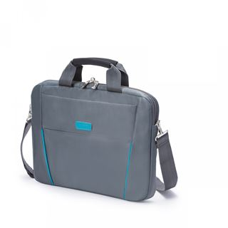 Dicota Slim Case Base 14-15.6 grau blau