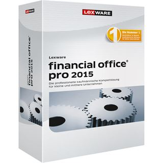 Lexware Financial Office Pro 2015 32/64 Bit Deutsch Finanzen Vollversion PC (CD)