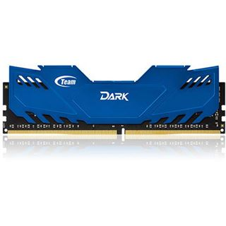 16GB TeamGroup Dark Series blau DDR4-3000 DIMM CL16 Quad Kit