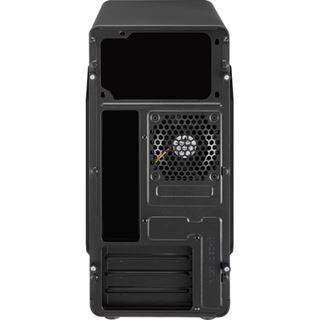AeroCool QS-180 Mini Tower ohne Netzteil schwarz