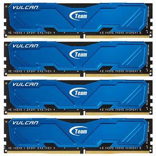 16GB TeamGroup Vulcan Series blau DDR4-3000 DIMM CL16 Quad Kit