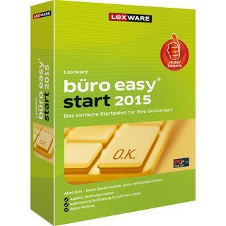 Lexware Büro Easy Start 2015 32/64 Bit Deutsch Buchhaltungssoftware Vollversion PC (CD)