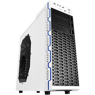 Raidmax Seiran II mit Sichtfenster Midi Tower ohne Netzteil weiss